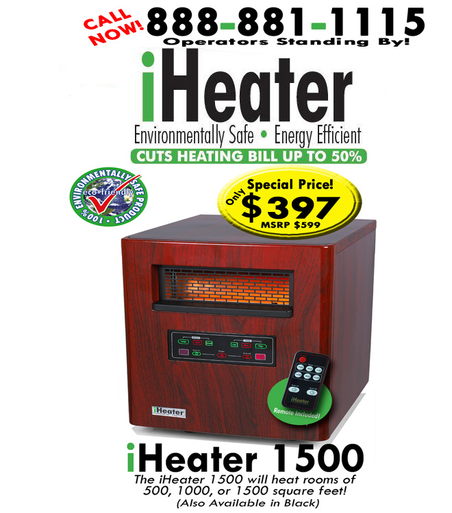 iheater infrared portable heater